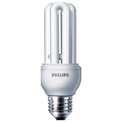Лампа энергосберегающая 11W/827 E27  CFL Economy Philips