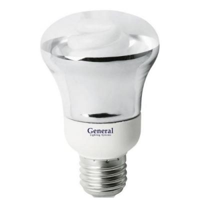 Лампа энергосберегающая эко-мини 15 Вт GE тёпл.