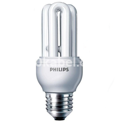 Лампа энергосберегающая 8W/865 E14 Genie  Economy Philips