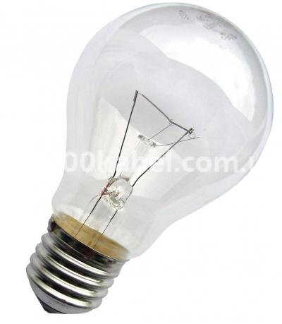 Лампа накаливания 75W CLS А55  E-27 прозрачная