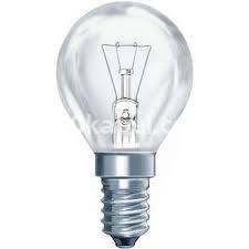 Лампа накаливания 40W GE шар Е-14