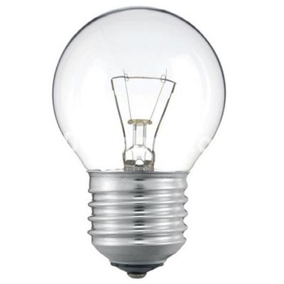 Лампа накаливания 60W PILA шар E14 прозрачный
