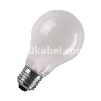 Лампа накаливания 75А1/F/Е27 стандартная матовая  А50 GE 17944