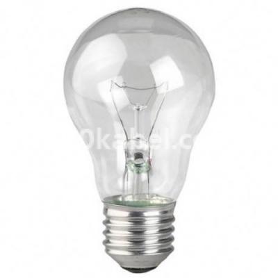 Лампа накаливания 60А1/CL/Е27 стандартная прозрачная А50 GE 17929