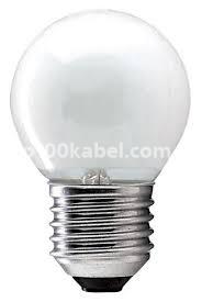 Лампа накаливания 60D1/FR/E27 шар матовая 90568