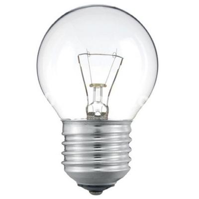 Лампа накаливания 40D1/CL/E14 шар прозрачная