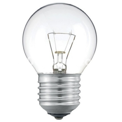 Лампа накаливания 40D1/CL/E27 шар  прозрачная 90565